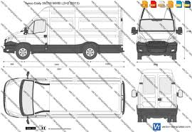 nissan nv200 template templates cars iveco iveco daily 55c16 mwb l2h2