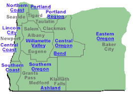 map of oregon united states best lodging oregon united states hotels motels vacation