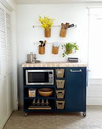 kitchen island microwave custom diy rolling kitchen island daydream