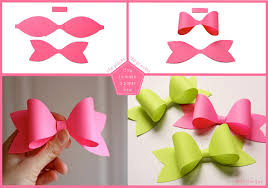 template diy how to diy easy and paper bow fab diy