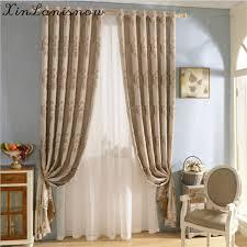 tende per sale da pranzo pastorale fresco lino tinto filo tessuto tende per soggiorno sala