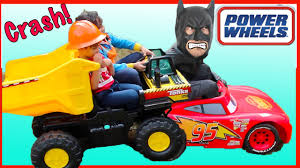 frozen power wheels sleigh batman toys disney cars power wheels lightning mcqueen tonka truck