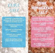 what s the difference between table salt and sea salt table salt vs himalayan pink salt what s the difference well here