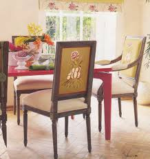 Diy Dining Room Chair Covers by Red Dining Room Chairs Five Daring Dining Rooms Red Dining Set