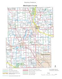 Counties In Wisconsin Map by Wisconsin County Bicycle Maps