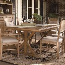picnic table dining room sets paula deen down home family style dining table oatmeal from