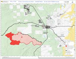 Oregon Forest Fires Map by Central Or Fire Info Milli Fire Map For August 23