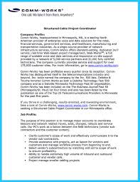 Network Technician Resume Examples by How To Make Cable Technician Resume That Is Really Perfect