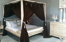 Poster Bed Curtains Four Poster Bed Curtains Ebay