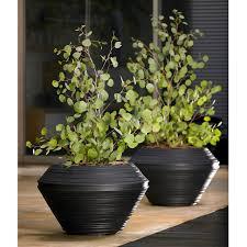 crescent garden origami indoor outdoor garden planter hayneedle