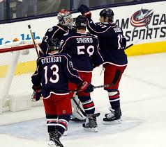 blue jackets rout nhl leading canadiens 10 0
