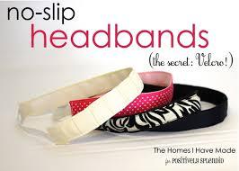 headbands that don t slip no slip headband tutorial positively splendid crafts sewing