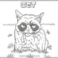 coloring pages grumpy cat kids drawing coloring pages marisa