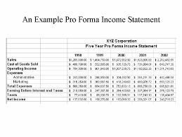 Pro Forma Financial Statements Excel Template 7 Financial Statement Effects Template Financial Statement Form