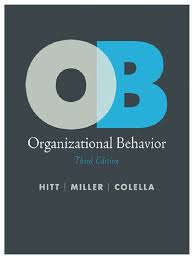 organizational behavior third edition organizational behavior