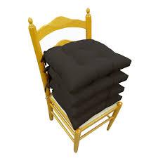 Chair Cushions Kohls Microfiber 4 Pk Chair Pads
