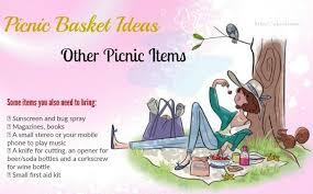 picnic basket ideas list of 14 best picnic basket ideas for everyone
