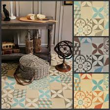 moroccan style vinyl flooring sheet lino non slip retro cushion