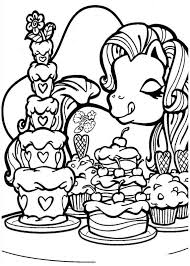 coloring pony coloring pages 12 color mlp