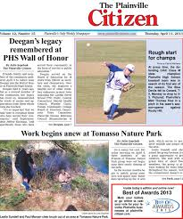 04 11 2013 the plainville citizen by dan champagne issuu