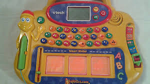 euc vtech write and learn smartboard with pen sounds lights