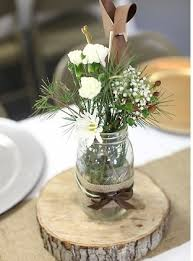 wood centerpieces how to make wood slab centerpieces wedding tips and inspiration
