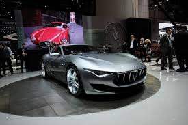 maserati alfieri white maserati lights up our fantasies with alfieri coupe concept w videos