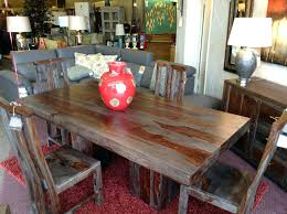 distressed wood table and chairs distressed dining room table solid wood dining room table freedom to