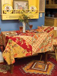 beautiful table cloth design indian summer patchwork tablecloth april s attic sale linens