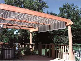 Pergola Retractable Canopy by Outdoor Wooden Pergola With Retractable Roofing Outdoor Pergola