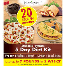 nutrisystem members u0027 favorites 5 day diet kit walmart com