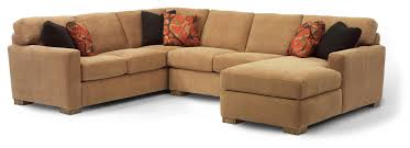 Flexsteel Sleeper Sofas by Flexsteel Bryant Contemporary Sectional Sofa With 3 Modular Pieces