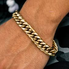 hand chains bracelet images Cuban link bracelet the gold gods jewelry jpg