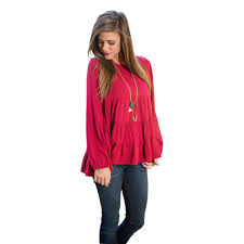 2016 fashion new blouses tops europe selling pleated