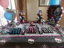 monster high party decorations by teresa