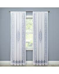 Simply Shabby Chic Bathroom Accessories amazing deal on embroidered curtain panel white 54