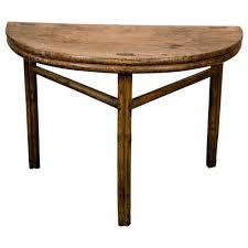 half circle bar table