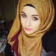 tutorial hijab nabiilabee pretty color nabilla beee teal hijab necklace