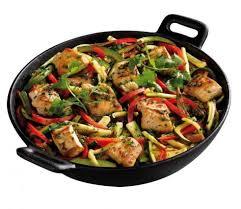 comment cuisiner au wok recette wok de poulet et légumes du soleil 750g