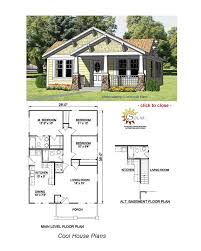 house plans for small cottages bungalow floor plans bungalow craft and craftsman