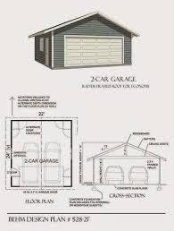 garage plans blog behm design plan examples plan car garage framed roof