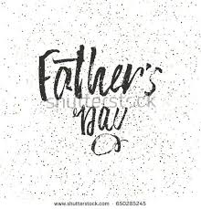 happy fathers day design background lettering stock vector
