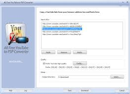 youtube downloader free youtube video downloader download and convert youtube video to psp to enjoy all free