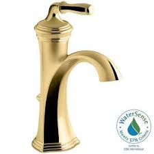 Brass Faucets Bathroom by Brass Bathroom Faucets Bath The Home Depot