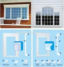 home exterior decorative base cap pvc moulding buy pvc exterior