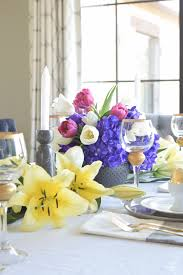 a modern easter table scape holiday entertaining tour zdesign at
