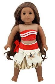 18 Doll Halloween Costumes Disney U0027s Moana Cool Movie Tie Costumes Clothes Decor U0026