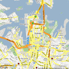 sydney australia map map of sydney nsw hotels accommodation