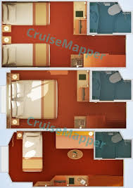 Carnival Freedom Floor Plan Carnival Conquest Cabins And Suites Cruisemapper