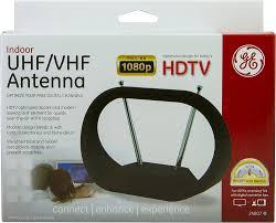 amazon com ge 24804 indoor antenna indoor vhf uhf hdtv